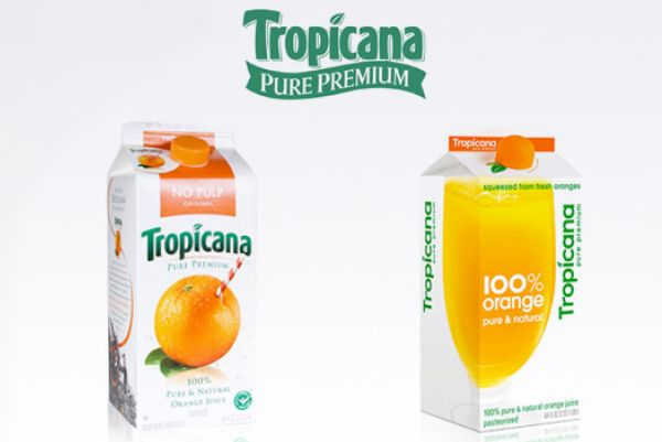 Tropicana Brand Refresh Example