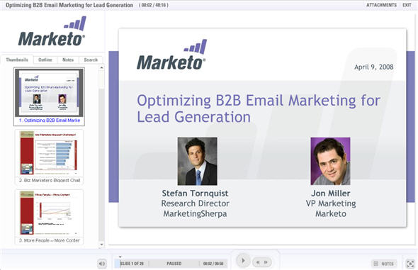 B2B Email Marketing Webinar - Watch Now