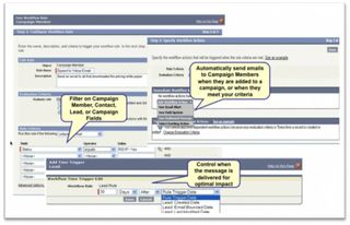 Marketing Workflows in Salesforce Summer 09