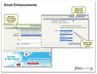 Email Enhancements Salesforce Summer 09