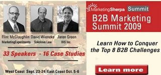 MarketingSherpa B2B Marketing Summit
