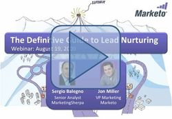 Definitive Guide to Lead Nurturing Webinar