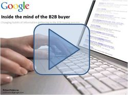 Inside the Mind of the B2B Buyer