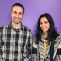 Joe Paone and Vyoma Kapur