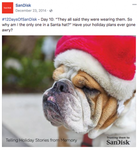 ScanDisk Christmas Campaign